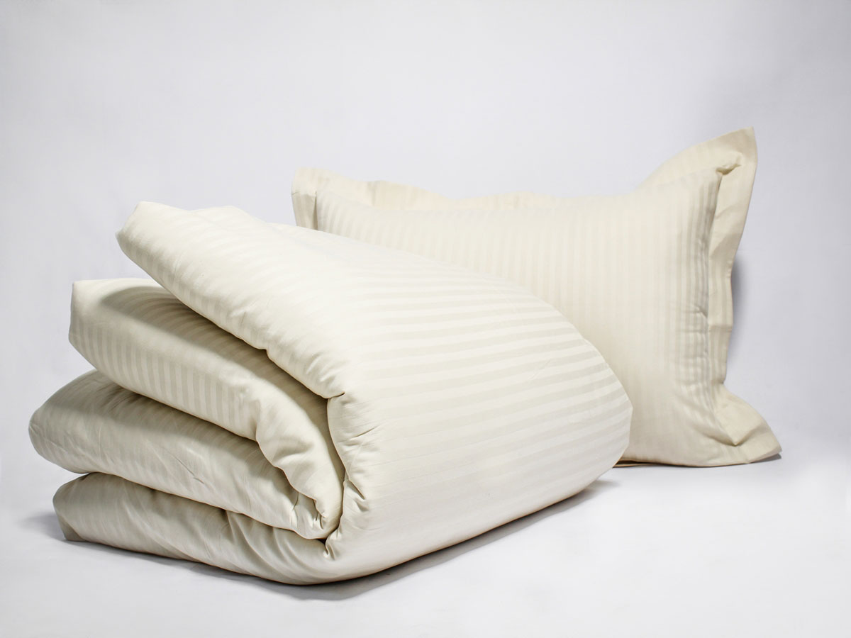Stripe Organic Duvet Set